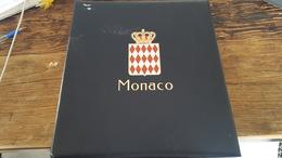 LOT 43597 ALBUM DAVO LUXE VIDE POR TIMBRE DE MONACO DE 1996 A 2996 - Timbres