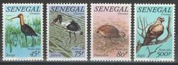 Sénégal - YT 579-582 ** - 1982 - Oiseaux - Birds - Sénégal (1960-...)