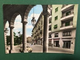 Cartolina Acqui Terme - Via Giulio Monteverdi - 1962 - Alessandria