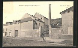 CPA Vaux, Platriere Du Port Marron - Francia