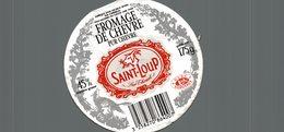 ETIQUETTE DE FROMAGE DE CHAVRE SAINT LOUP - Cheese