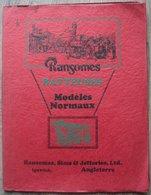 Catalogue 28  Pages Ransomes Batteuses Modeles Normaux Ransomes,Sims & Jefferies,Ltd Ipswich Angleterre - Matériel Et Accessoires