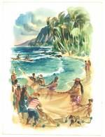 Grand Menu S.S. Mariposa , Matson Lines , Hawaii - Menus