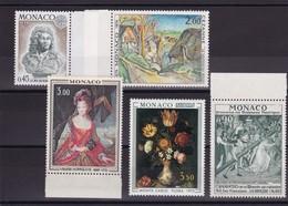 LOT DE 29 TIMBRES DE MONACO NEUFS ET SANS CHAR/. - Collections, Lots & Séries