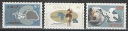Sénégal - YT 624-626 ** - Année Mondiale Des Télécommunications - Sénégal (1960-...)