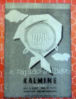 KALMINE   PUBBLICITA' ORIGINALE PICTURE OF VINTAGE PAPER 1960 - Pubblicitari