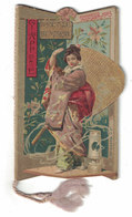 CALENDARIETTO 1905  GIAPPONE  BEMPORAD & FIGLIO EDITORI - Autres
