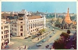 /!\ 8920 - CPA/CPSM - Myanmar - Birmanie : Rangoon : Sule Pagoda Road - Myanmar (Burma)