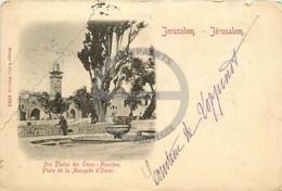 /!\ 8880 - CPA/CPSM - Israel : Jérusalem : Place De La Mosquée D'Omar - Israel