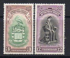 Trinidad & Tobago GVI 1951 BWI University College Set Of 2, MNH, SG 265/6 - Trinidad & Tobago (...-1961)