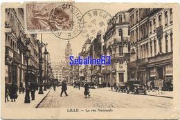 Lille - La Rue Nationale - 1936 - Lille