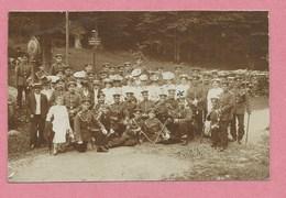 68 - 88 - Grenze - Frontière VOSGES - ALSACE - VENTRON - Carte Photo - Soldats Allemands - Poteau Frontière - 3 Scans - Zonder Classificatie