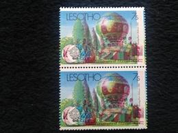 Lesotho Manned Flight 1983 Colour Shift - Lesotho (1966-...)
