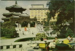 SOUTH KOREA - SEOUL - GARDEN OF THE CHOSUN HOTEL - BY SAMHWA PRINTING CO. - 1960s/70s (BG1997) - Corée Du Sud