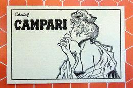 CAMPARI   PUBBLICITA' ORIGINALE PICTURE OF VINTAGE PAPER 1960 - Pubblicitari