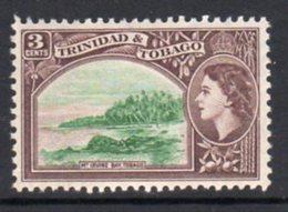 Trinidad & Tobago QEII 1953-9 Definitive 3c Mount Irvine Bay Value, MNH, SG 269 - Trinidad & Tobago (...-1961)