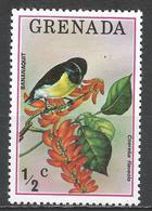 Grenada 1976. Scott #692 (MNH) Bird, Bananaquit * - Grenade (1974-...)