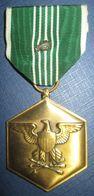 "Medaille ""Commendation Medal"" US Avec Agraffe ""Oak Leaf"" - Etats-Unis"