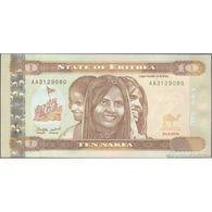 TWN - ERITREA 11 - 10 Nakfa 24.5.2012 Prefix AA UNC - Erythrée