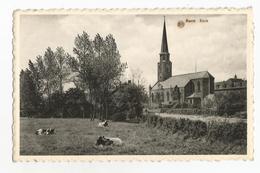 Burst Kerk Oude Postkaart Erpe-Mere - Erpe-Mere