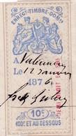 T.F.Effets De Commerce N°183 - Fiscaux
