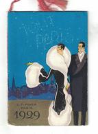 CALENDARIETTO ALMANACCO 1929  PIVER  TOUT PARIS - Calendari