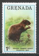 Grenada 1976. Scott #693 (MNH) Orange-rumped Agouti * - Grenade (1974-...)