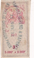 T.F.Effets De Commerce N°255 - Fiscaux