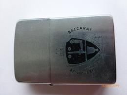 """Briquet Zippo : Militaria , Dragueur De Mines Océanique """" Baccarat """" - Zippo"""