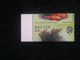 Belize, Marine Life 10c Perf Shift - Belize (1973-...)