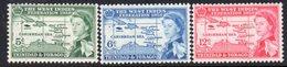 Trinidad & Tobago 1958 British Caribbean Federation Set Of 3, MNH, SG 281/3 - Trinidad & Tobago (...-1961)
