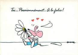 Illustrateur Baudrioles  - Humour Souris Toi Passionnement A La Folie  B 556 - Illustrateurs & Photographes