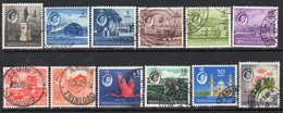 Trinidad & Tobago 1960-7 Definitives Part Set Of 12 To 60c, Used, SG 284/95 - Trinidad & Tobago (...-1961)