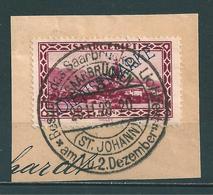Saar MiNr. D 18 Vollstempel: SAARBRÜCKEN (ST.JOHANN)  (0463) - 1920-35 Société Des Nations