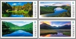 Taiwan 2018 Alpine Lake Stamps (III) Mount Rock Geology Natural - 1945-... Republic Of China