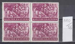55K110 / 450 Bulgaria 1940 Michel Nr. 419 - Fruit Apples Harvest Apfelernte  , Agricultural Scenes** MNH - Frutas