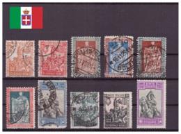 Italie Royaume 1928 Oblitéré / MNG - Monarchies - Chevaux - Animaux - Sassone Nr. 226-238 Série Complète (ita220) - 1900-44 Victor Emmanuel III