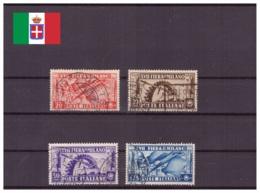 Italie Royaume 1936 Oblitéré - Foires - Sassone Nr. 394-397 Série Complète (ita225) - 1900-44 Victor Emmanuel III