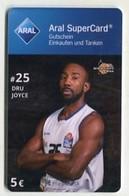 37782  Aral Super Card  - Basketball - Science City Jena - Dru Joyce - Gift Cards