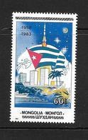 MONGOLIE 1984 REVOLUTION CUBAINE YVERT N°1298 NEUF MNH** - Histoire