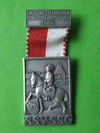 SVIZZERA  Concorso Individuale Tiro A Degno 1964 - Medaillen & Ehrenzeichen