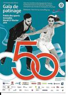 JEUX OLYMPIQUES D'HIVER GRENOBLE 1968 - 50ème ANNIVERSAIRE - OLYMPICS WINTER GAMES ANNIVERSARY- CIZERON - PAPADAKIS - Giochi Olimpici