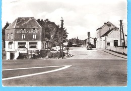 Gedinne-Station-1966-La Gare De Chemin De Fer SNCB-Hôtel Restaurant Jacoby-Edit.Maison Goblet-Brichet-SPAR, Gedinne - Gedinne