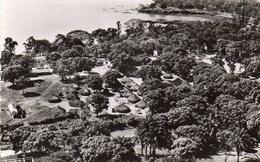 GUINEE CONAKRY VUE AERIENNE DU QUARTIER INDIGENE CARTE PHOTO DENTELEE - French Guinea