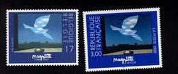 701127082 BELGIE POSTFRIS MINT NEVER HINGED POSTFRISCH EINWANDFREI  OCB 2755 SAMEN MET FRANSE CO UITGIFTE - Ongebruikt