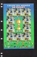 1999 Block Rugby MNH (495) - Sheetlets