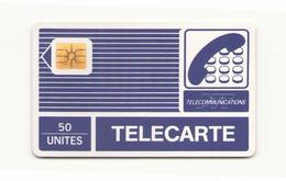 TELECARTE PYJAMA 50 UNITES DOS VIERGE BLEU - France