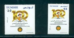 Tunisie 2019-Centenaire De L'espérance Sportive De Tunis Série (2v) - Tunisia