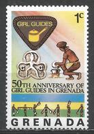 Grenada 1976. Scott #725 (MNH) Girl Guide Emblem * - Grenade (1974-...)