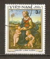 1983 - Raphaël (1483-1520) La Belle Jardinière - N°424 - Viêt-Nam